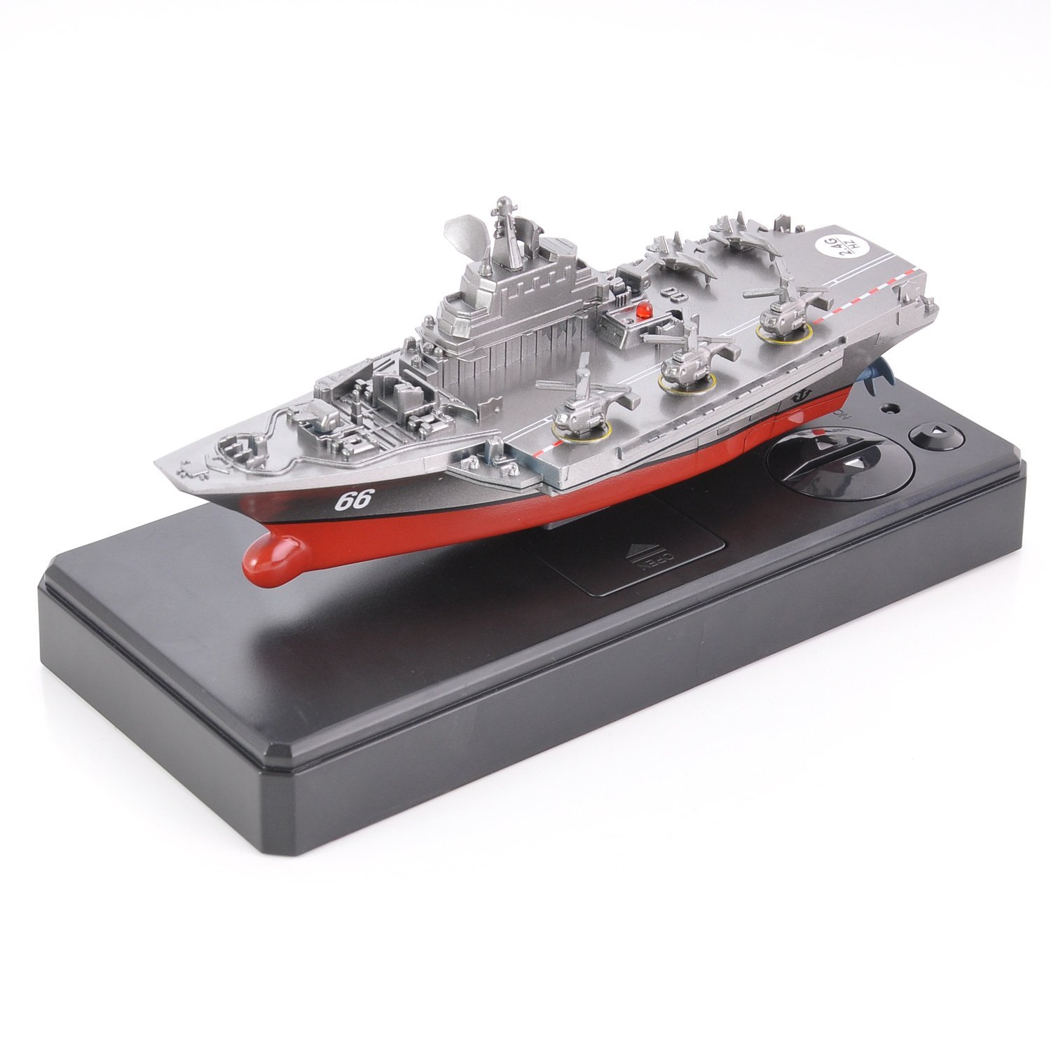 2.4 GHz RC Boat Double Motor Ship Navy Aircraft Carrier